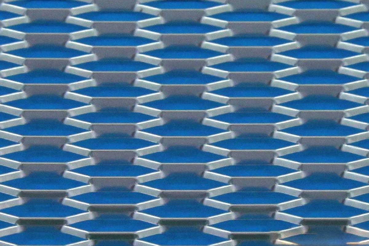 SIATKA ALU HONEY COMB SILVER 120 * 20cm - GRUBYGARAGE - Sklep Tuningowy